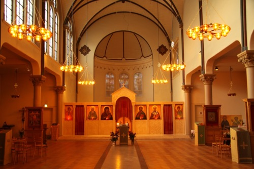 Four recently installed Icon Thrones for the Russian Orthodox…