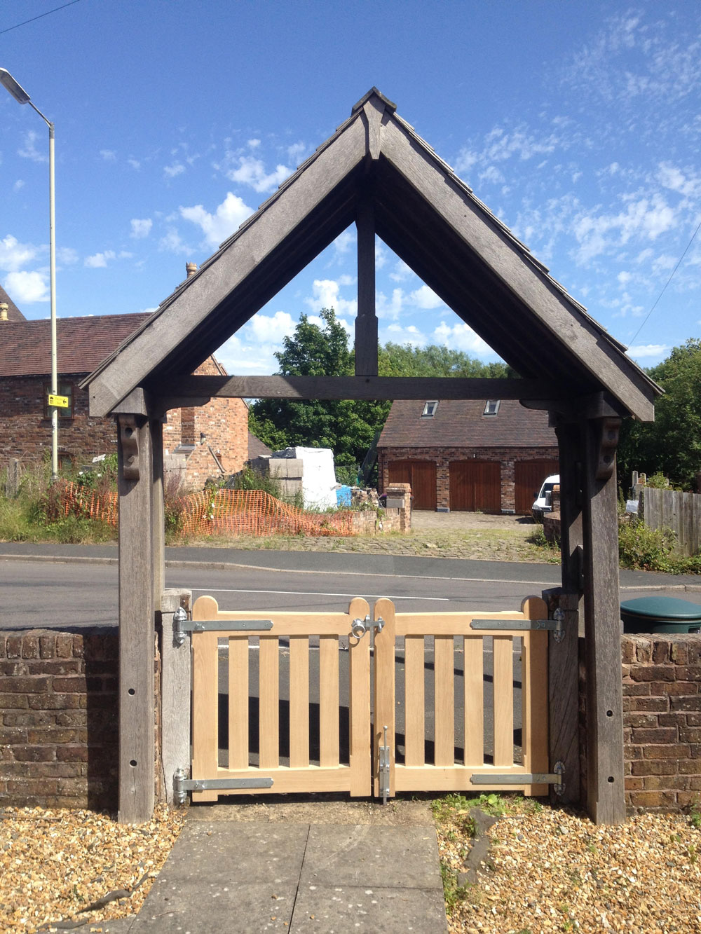 Gates for Little Dawley Memorial Garden