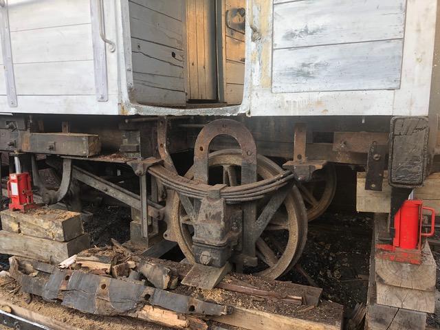 Railway Brake Van repair