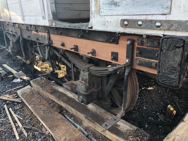 Railway Brake Van repaired