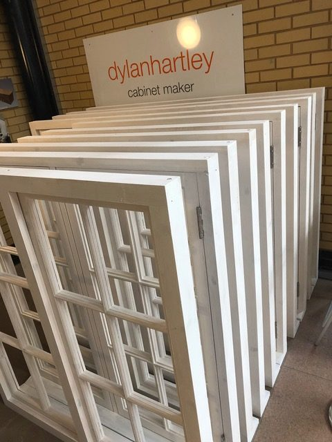 Windows made of softwood with hardwood cills for the YHA Coalbrookdale on behalf of the Ironbridge Gorge Museum Trust.